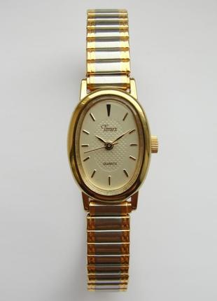 Timex винтажные часы из сша браслет twist-o-flex speidel