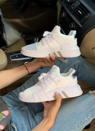 Adidas equipment white адидас еквимпент белые кроссовки