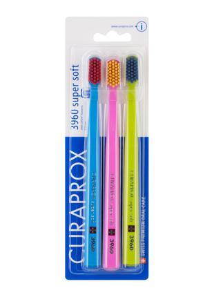 Зубная щетка Curaprox Курапрокс CS 3960 Super Soft (3 шт в упак)