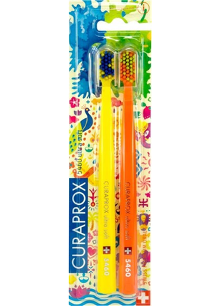 Зубная щетка Курапрокс Curaprox Ultra Soft CS 5460 Summer 2 шт/уп