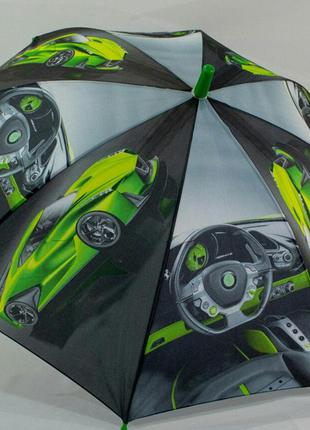 Зонт  для мальчика супермашины supercar. венгрия