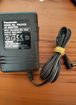 Блок питания Panasonic PQLV1CE на 9V 500mA (оригинал)
