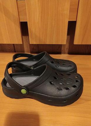 Bive fin оригинал крокси сабо сандалии шлепанци