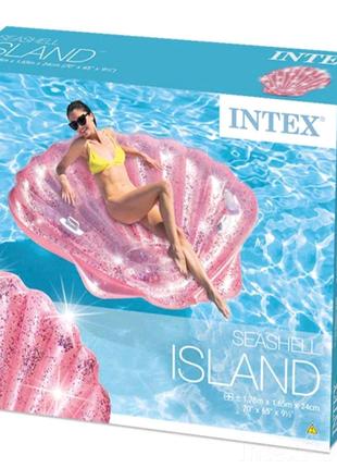 Матрац для плавання Рожева черепашка Intex