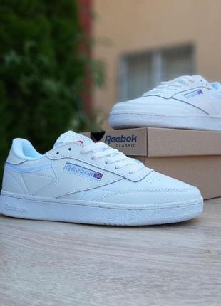 Reebok classic club c белые