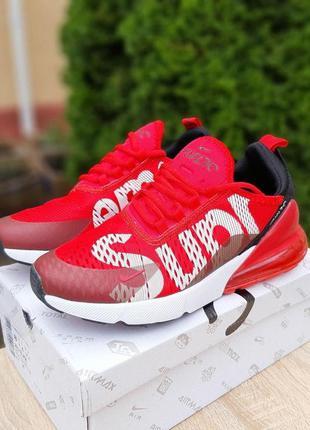 Nike air max 270 supreme красные