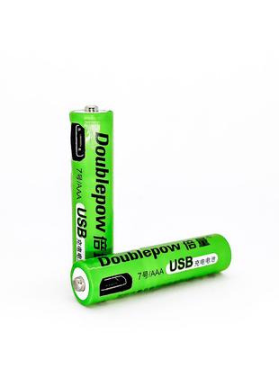 Аккумулятор ААА с разъемом Micro USB