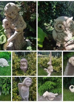 Садовая скульптура из керамики