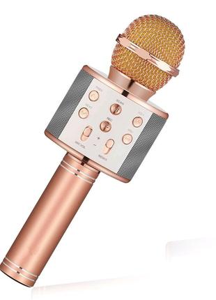 Мобильный микрофон караоке  Bluetooth