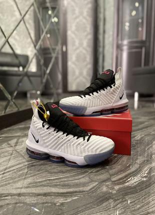 🔥 Nike LeBrone 15 White Black