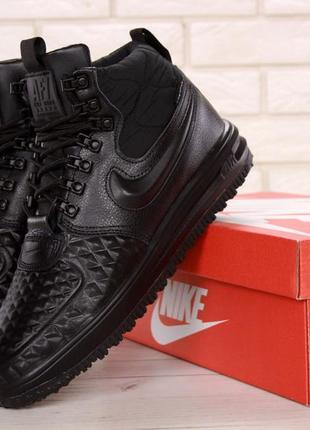 Крутые кроссовки 💪 nike lunar force 1 duckboot black 💪