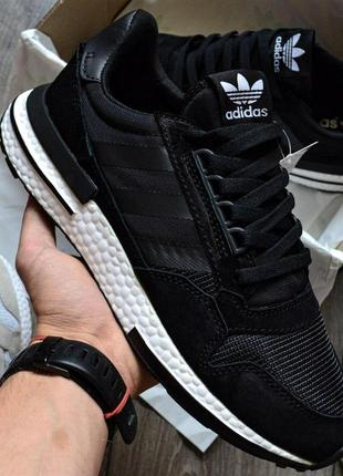 "Хайповые кроссовки 💪 adidas zx 500 rm ""core black & white"" 💪"