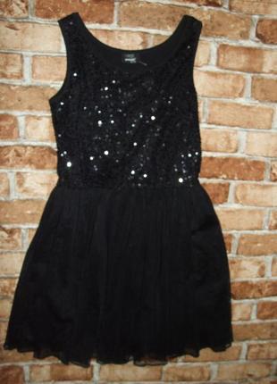 Платье нарядное паетки 12-14 лет page one young сток