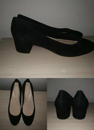 Туфли 42 р замшевые удобные