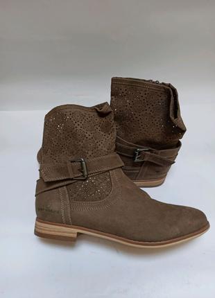 Полусапоги tom tailor. брендовая обувь stock