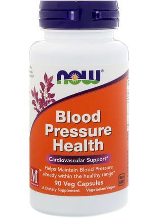 Здоровое артериальное давление, 90 капс. Now Foods США