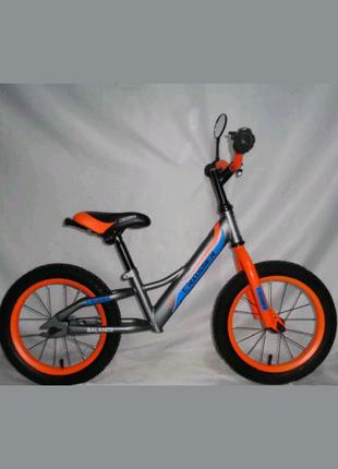 Беговел Кросер Баланс 14,16 дюймов детский велобег