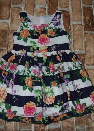 Платье нарядное пышное 3 года matalan девочке