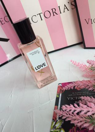 Мист спрей для тела victoria's secret love оригинал, парфюмери...