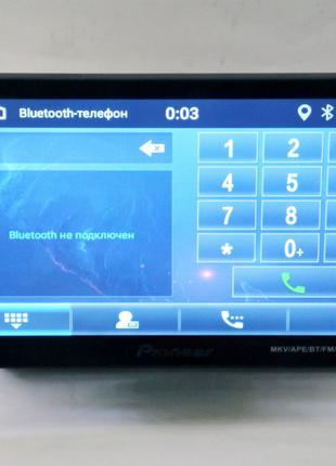 "1din Магнитола Pioneer 9010A - 9"" Съемный экран GPS + WiFi + USB"