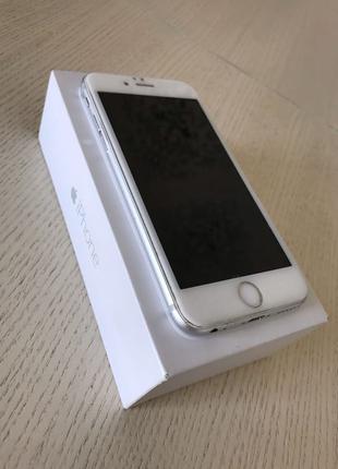 iPhone 6, Silver, 128GB