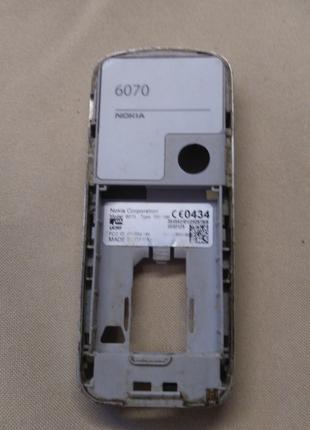 Nokia 6070 Средняя часть корпуса оригинал в сборе