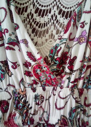 Супер платье в пол, кружевная спинка, декольте
