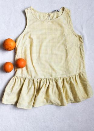 Расклешоная блуза с баской от f&f, размер м-l