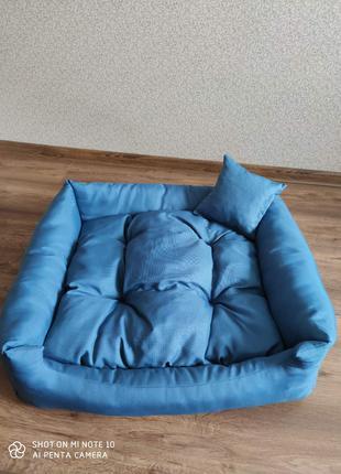 Лежак для собак і кішок 80×65×16