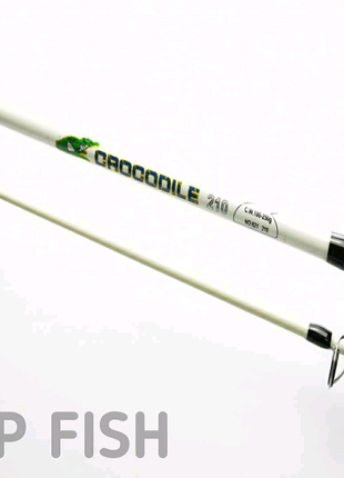 Спиннинг Crocodile (Крокодил)  2.10м со скруткой