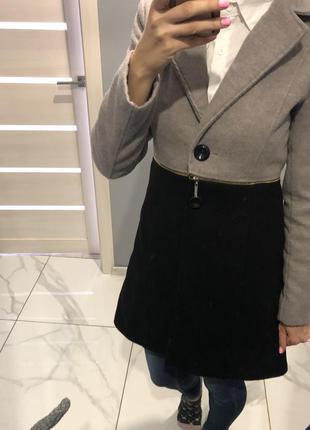 Итальянское пальто кардиган