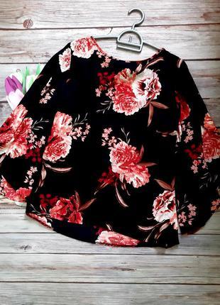 Нереально красивая блузка шифоновая