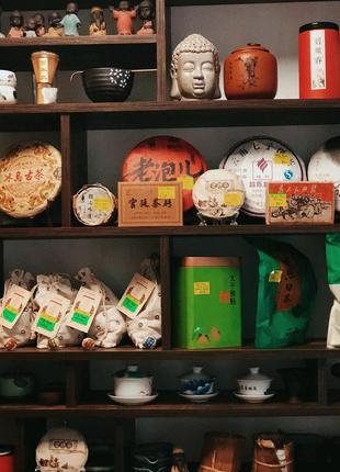 Китайский чай , Пуэр , Да хун пао,  красный чай , зелёный чай