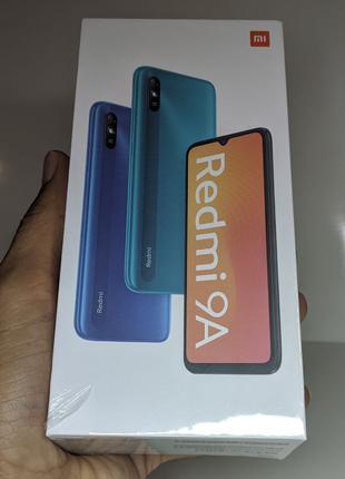 Мобильный телефон Xiaomi Redmi 9A 2/32GB черный