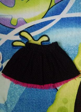 Красивая вельветовая юбка для девочки 3-4 года