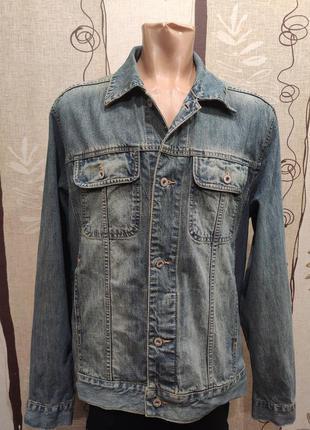 Clockhouse мужская джинсовая куртка, пиджак, джинсовка