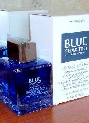 Antonio Banderas Blue Seduction for Men. EDТ 100 МЛ Нова! Луцьк