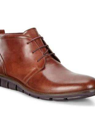 Ботинки ecco jeremy hybrid boot 602524 оригінал натуральна кожа