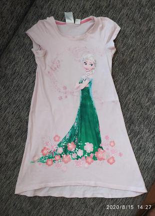 Красивое легкое платье с эльзой холодное сердце
