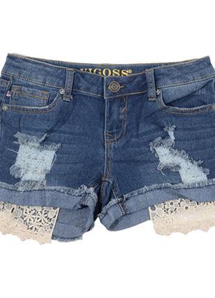 Шорты на подростка, джинсовые,vigoss , новые, оригинал