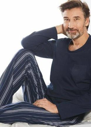 Мужская пижама домашний костюм, реглан кофта штаны, livergy ге...
