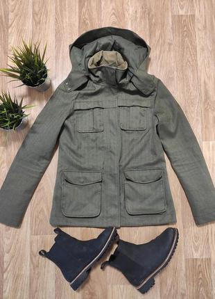 M/ куртка женская хаки милитари