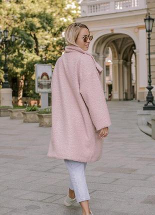 Пальто женские демисезонное барашек