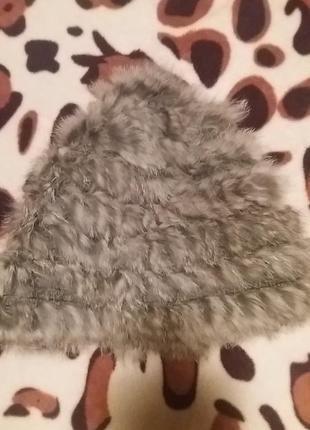 Шапка из кролика