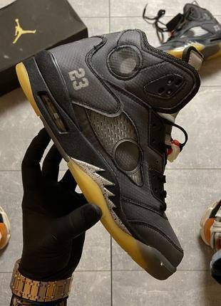Кроссовки Nike Air Jordan V Retro X Off-White.