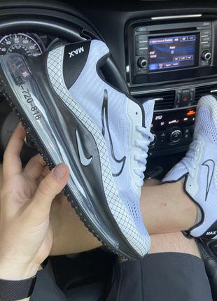 Кроссовки Nike Air Max MX-720 818 White/Black.
