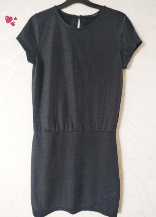 Платье, туника с люрексом, молодежная одежда