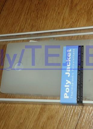 Силиконовый чехол Melkco + защитная пленка для Nokia lumia 435