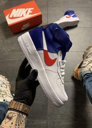 Кроссовки Nike Air Force 1 High Violet White .
