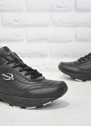 Кожаные кроссовки bona оригинал